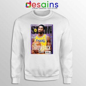 Slam Magazine Kobe Sweatshirt Black Mamba Kobe Retro Sweaters