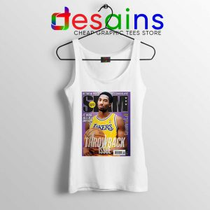 Slam Magazine Kobe Tank Top Black Mamba Retro Tops Shirts