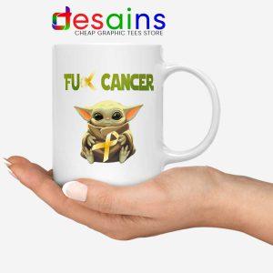 The Child does not like Cancer Mug Baby Yoda Coffee Mugs