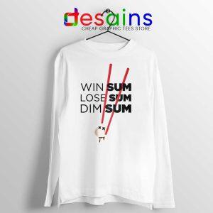 Win Some Lose Some Big Sean Long Sleeve Tshirt Dim Sum