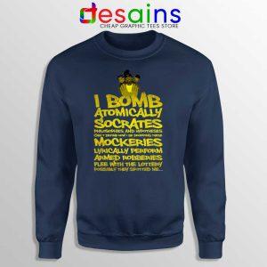 Wu Tang Saga Sweatshirt An American Saga Graphic Sweaters