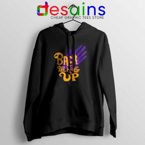 Back the Hale Up Hoodie Landis Harry Larry Song Jacket