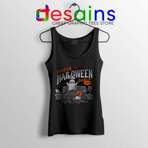 Indoor Halloween Tank Top Quarantine Halloween 2020 Tops
