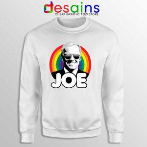 Joe Biden Pride Sweatshirt Rainbow Flag Joe Sweaters