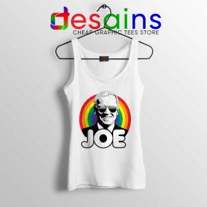 Joe Biden Pride Tank Top Rainbow Flag Joe Tops LGBT S-3XL