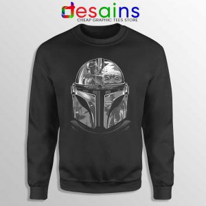 Mandalorian Helmet Sweatshirt Star Wars TV Series Sweaters