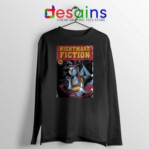 Pulp Fiction Girl Long Sleeve Tee Nightmare Before Christmas