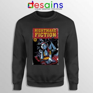 Pulp Fiction Girl Sweatshirt Nightmare Before Christmas