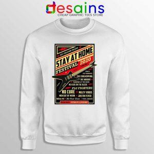 Quarantine Festival Music Sweatshirt Stay At Home Sweaters