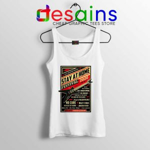 Quarantine Festival Music Tank Top Stay At Home Tops