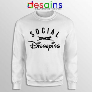 Social Disneying Sweatshirt Covid-19 Distancing Sweaters