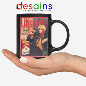 Vinsmoke Sanji Vintage Mug One Piece Smoke Coffee Mugs