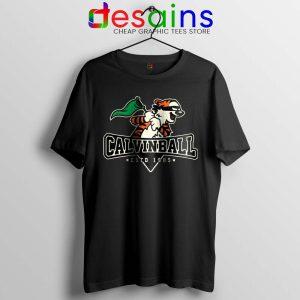 Calvin Ball Tshirt Calvin and Hobbes MLB Tee Shirts