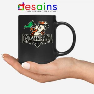 Calvinball Mug Calvin and Hobbes Baseball League Coffee Mugs