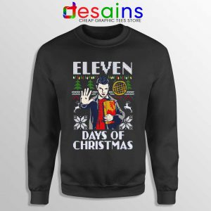 Eleven Days Of Christmas Sweatshirt Stranger Things Season 4