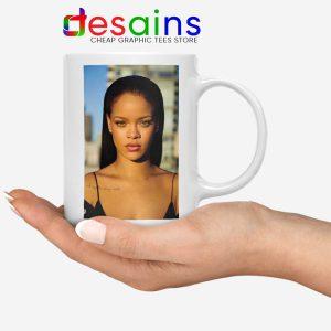 Rihanna The Fenty Face Mug Makeup Line Celebrity Mugs