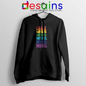 Nike Pride Parade Hoodie LGBT Rainbow Jacket