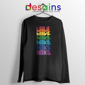 Nike Pride Parade Long Sleeve Tee LGBT Rainbow T-Shirts