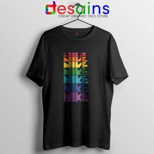 Nike Pride Parade Tshirt LGBT Rainbow Tee Shirts