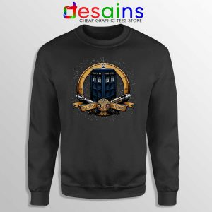 Allons y Geronimo Tardis Sweatshirt Doctor Who Sweaters