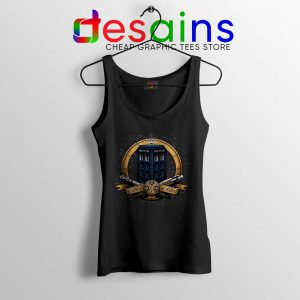 Allons y Geronimo Tardis Tank Top Doctor Who Tops