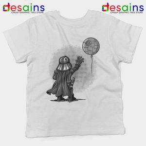 Balloon Darth Vader Kids Tee Banksy Star Wars Youth Tshirts