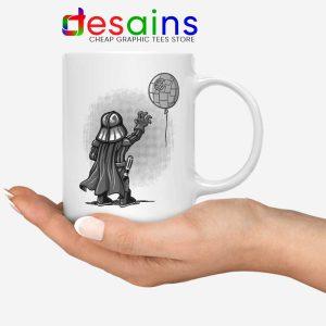 Balloon Darth Vader Mug Banksy Star Wars Coffee Mugs