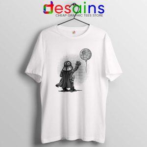 Balloon Darth Vader Tshirt Banksy Star Wars Tee Shirts