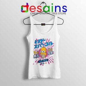Homer Simpson Mr Sparkle Tank Top Rising Sun Tops