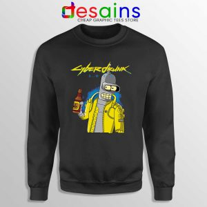 Cyberpunk 2077 Bugs Sweatshirt Cyberdrunk Graphic