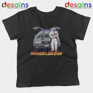 DeLorean Mando Kids Tee The Mandalorian
