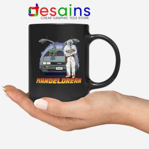 DeLorean Mando Mug The Mandalorian