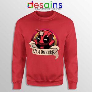 Im A Deadpool Unicorn Sweatshirt Marvel Comics Sweaters