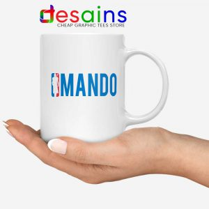 Mando NBA Logo Mug The Mandalorian