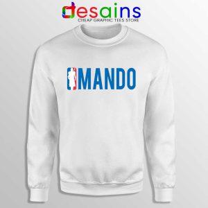 Mando NBA Logo Sweatshirt The Mandalorian