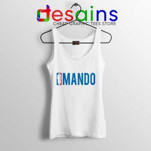 Mando NBA Logo Tank Top The Mandalorian