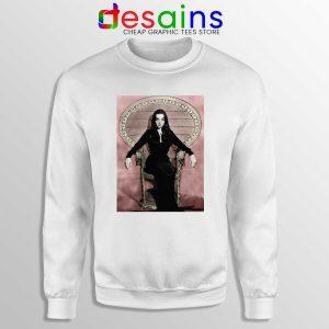 Morticia Addams Chair Sweatshirt The Addams Family
