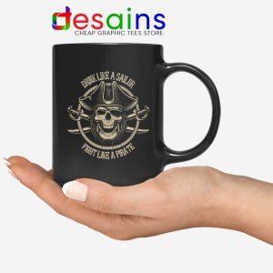 Pirate Skull and Crossbones Mug Graphic