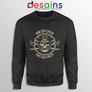 Pirate Skull and Crossbones Sweatshirt