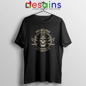 Pirate Skull and Crossbones T Shirt