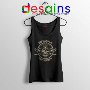 Pirate Skull and Crossbones Tank Top Sailor