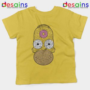 Simpsons Mmm Homer Kids Tee Funny Graphic T-shirts Youth
