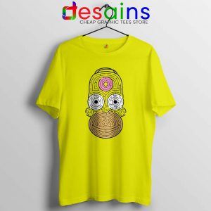 Simpsons Mmm Homer Tshirt Funny Apparel USA Tee Shirts