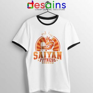 Super Saiyan Workout Ringer Tee Goku Gym