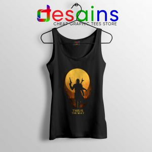 This is The Way Mando Tank Top The Mandalorian