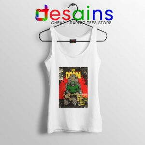 All Caps Madvillain Song Tank Top MF Doom Comic