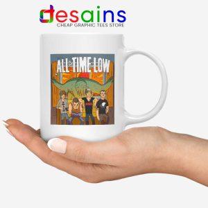 All Time Low Don t Panic Tour Mug Rock Band USA