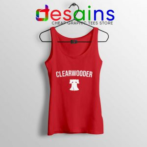 Bryce Wearing a Clearwooder Tank Top Phillies Spring Training