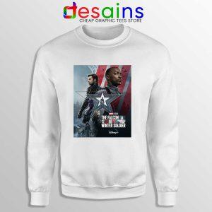 Cheap Falcon and Winter Soldier Sweatshirt Marvel Disney+