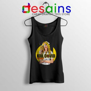 Kill Bill Covid Tank Top Coronavirus Vaccine